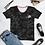 Thumbnail: Camo with Roses Women's T-shirt