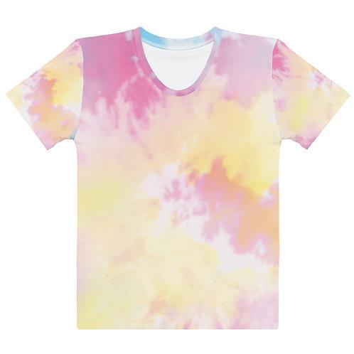 Pastel Tie Dye Color Women's T-shirt copy