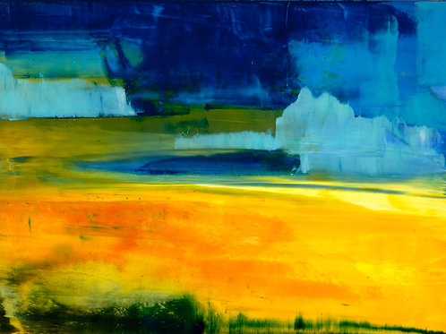 Fields of Gold - Archival Print on Canvas