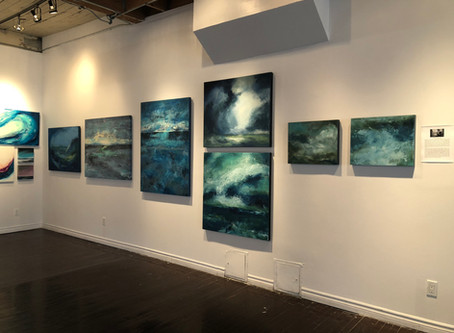 Water & Earth Exhibit at Twist Gallery, Toronto