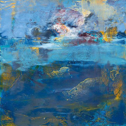 Lake Study - Archival Print on Canvas