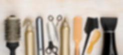 ciseaux peigne brosse couleur