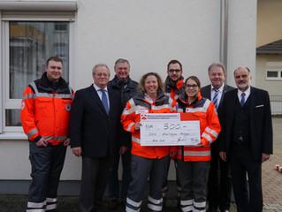 Spende der Sozialstiftung Baugenossenschaft Eppingen