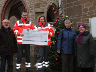 St. Vincentiusverein sammelte mit Baum der Nächstenliebe für Notfallausstattung