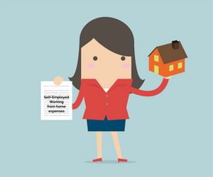 Self-employed working from home expenses