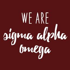 Sigma Alpha Omega