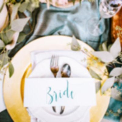 結婚式のテーブルアレンジメント