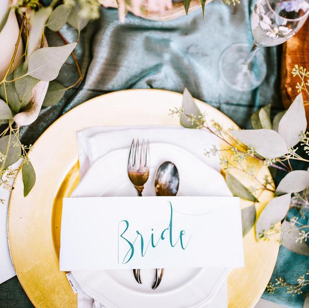 Tabla de la boda Arrangement