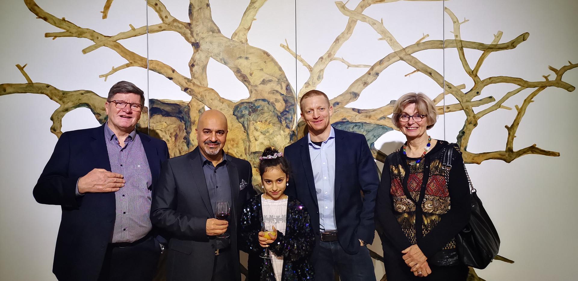 Georg Loven, Nour Nouri, Nuesh Nouri, Peter Loven, Marita Loven