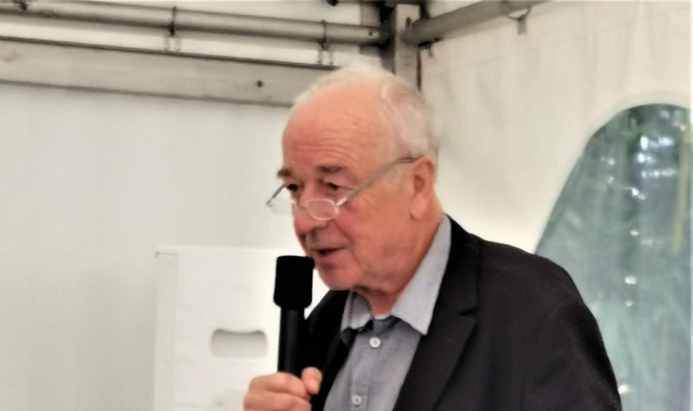 Redner Prof. Dr. Dieter Ronte - Fang Jinghui in 1992 - Ausstellungseröffnung