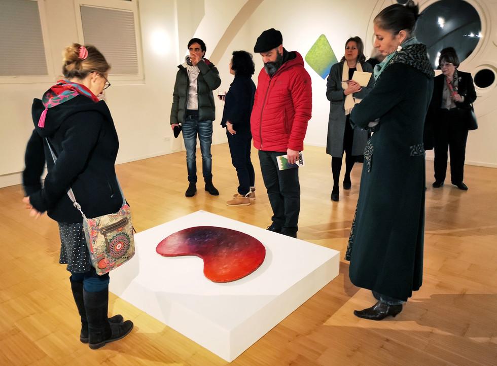 """Ausstellungseröffnung """"RAIMER JOCHIMS"""" - Kunstraum Villa Friede"""