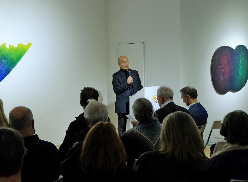 Redner Ren Rong - Kunstraum Villa Friede