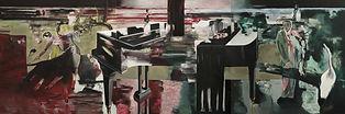 388 - Sonate, 2006, Öl auf Leinwand, 200