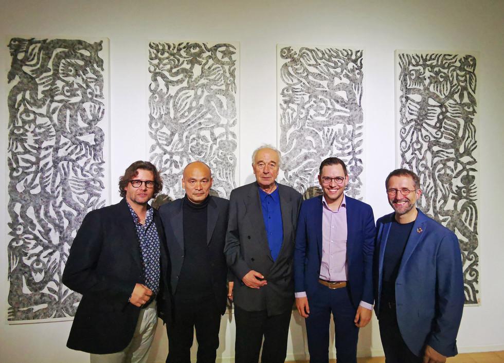 Dirk Geuer, Ren Rong, Dieter ROnte, Christoph Jansen, Bernd Fesel