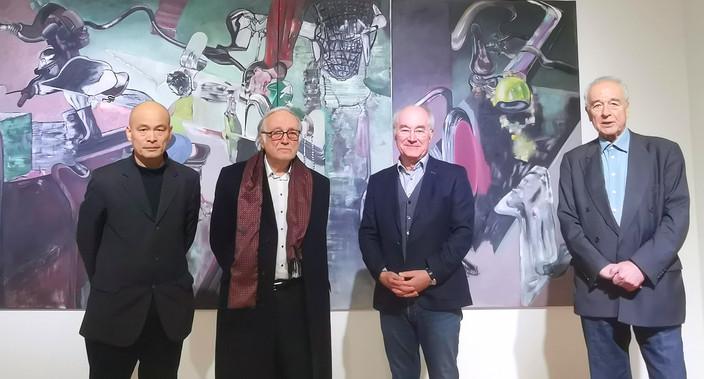 Ren Rong, Udo Scheel, Ferdinand Ullrich, Dieter Ronte