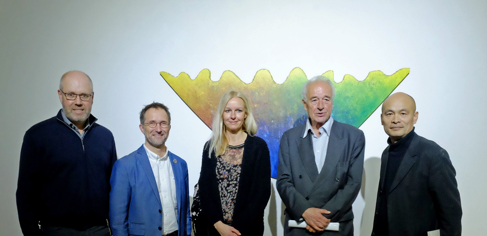 Christian Smarslik, Bernd Fesel, Astrid Lanzerath, Dieter Ronte, Ren Rong