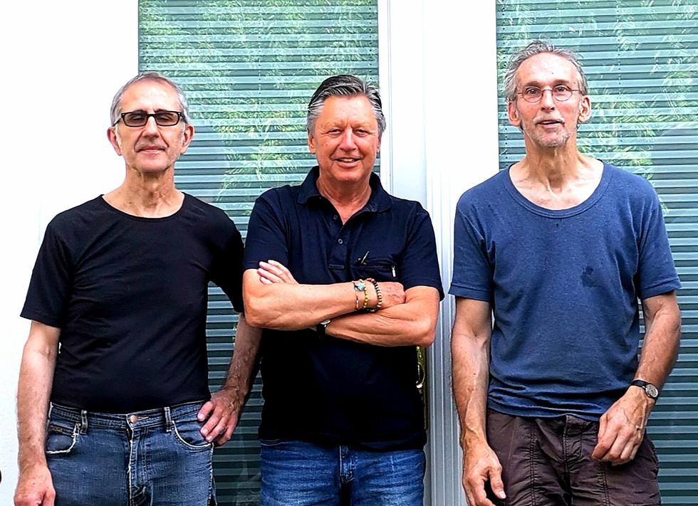 Künstler Nikola Dimitrov, Norbert Thomas und Martin Willing