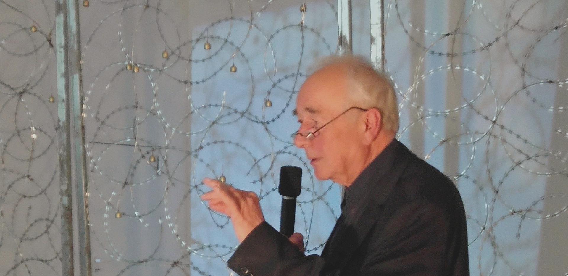 Kurator Dieter Ronte
