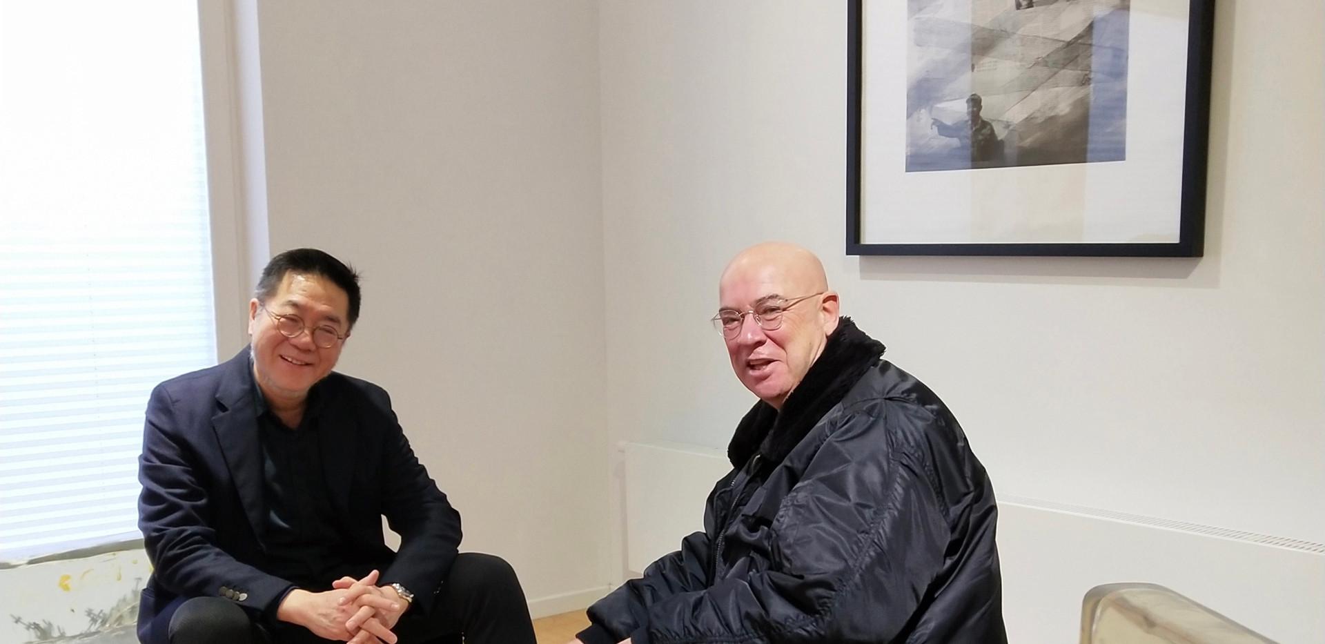 Wang Huangsheng und Wenzel Jakob