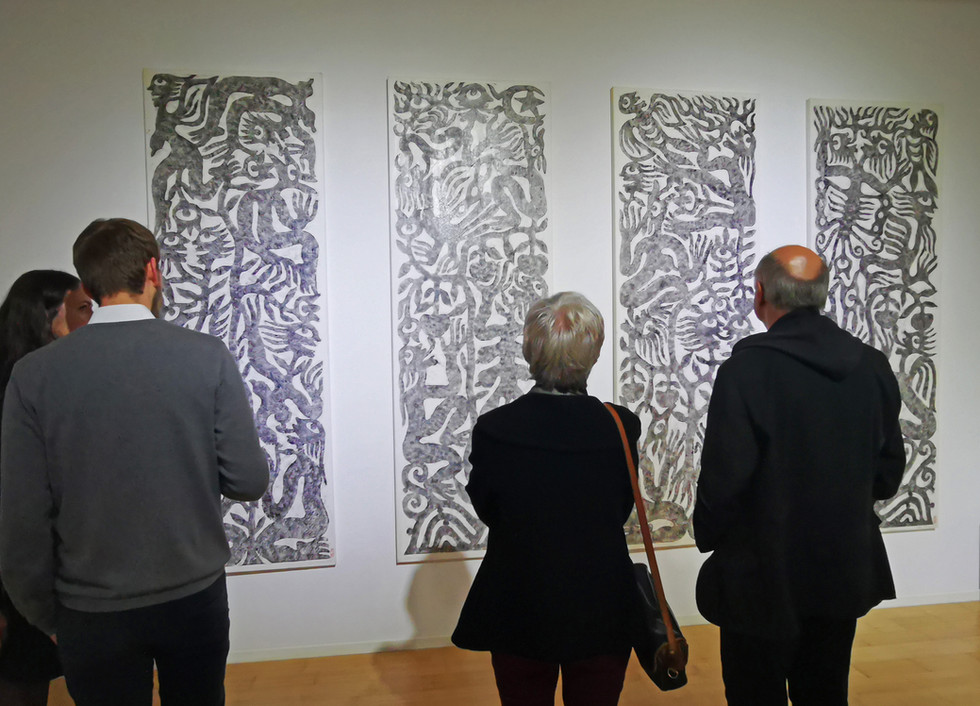 """Ausstellungseröffnung """"Uecker & Ren Rong"""" - Kunstraum Villa Friede"""