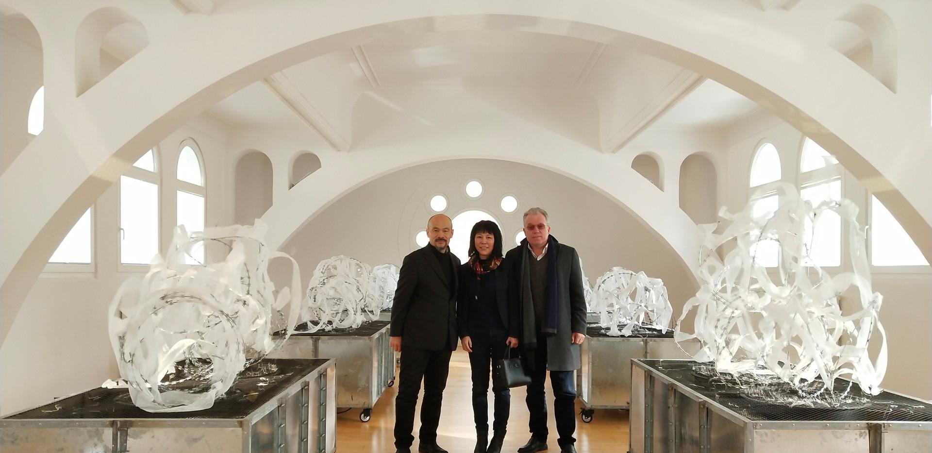 Ren Rong, Gong Yingchun und Martin Fleischer