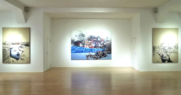 Ausstellungssituation