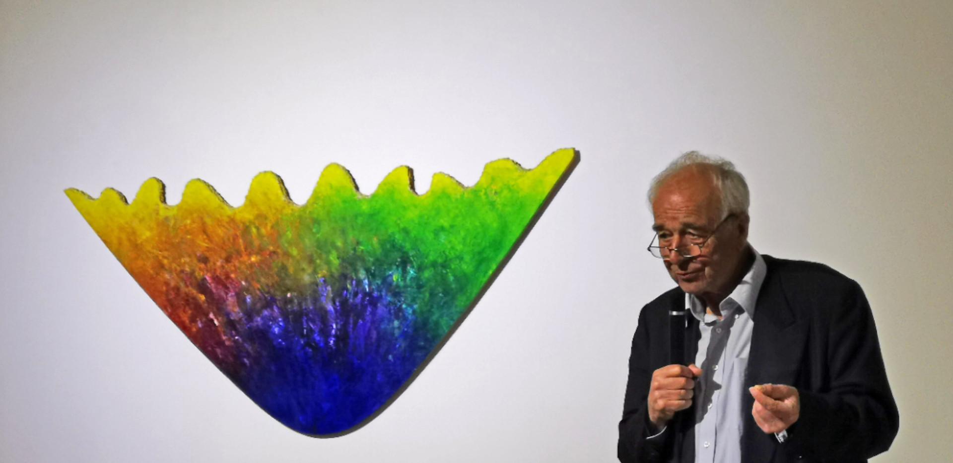 Redner Prof. Dr. Dieter Ronte - Kurator