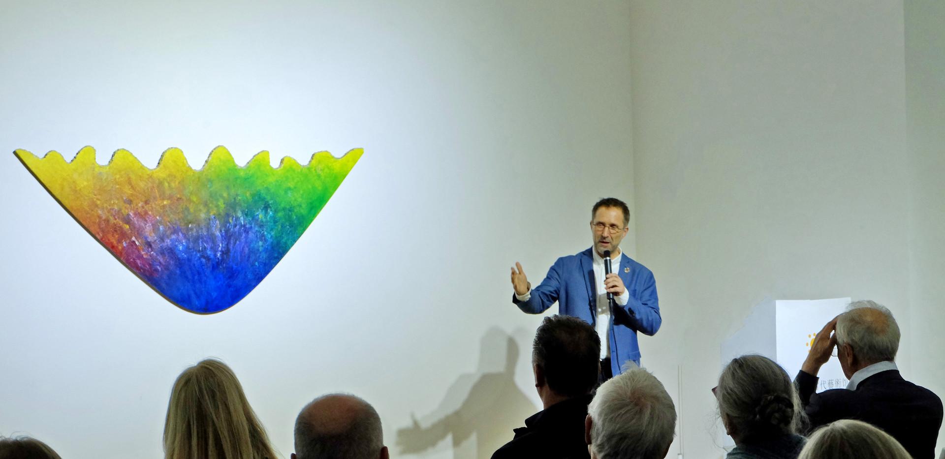 Redner Bernd Fesel - ce_creative economy Bonn