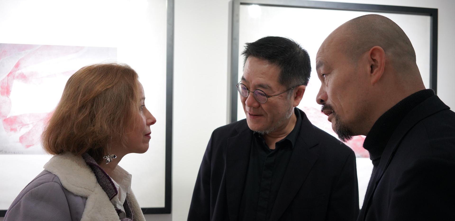 Beate Reifenscheid, Wang Huangsheng und Ren Rong