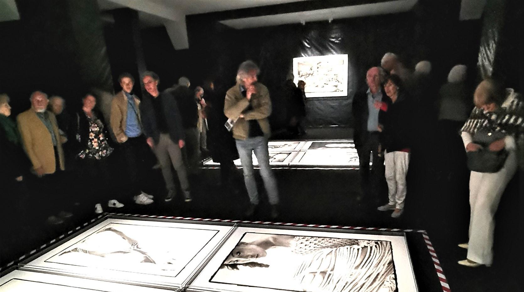 Fang Jinghui in 1992 - Ausstellungseröffnung