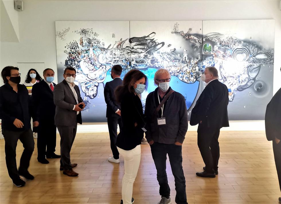 """Ausstellungseröffnung """"Zhong Biao - REVELATION"""""""