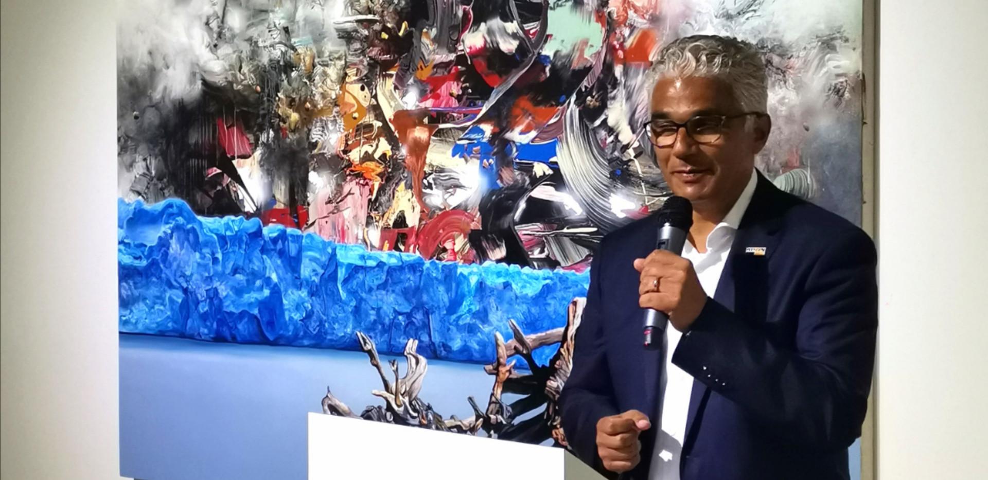 Redner Ashok Sridharan
