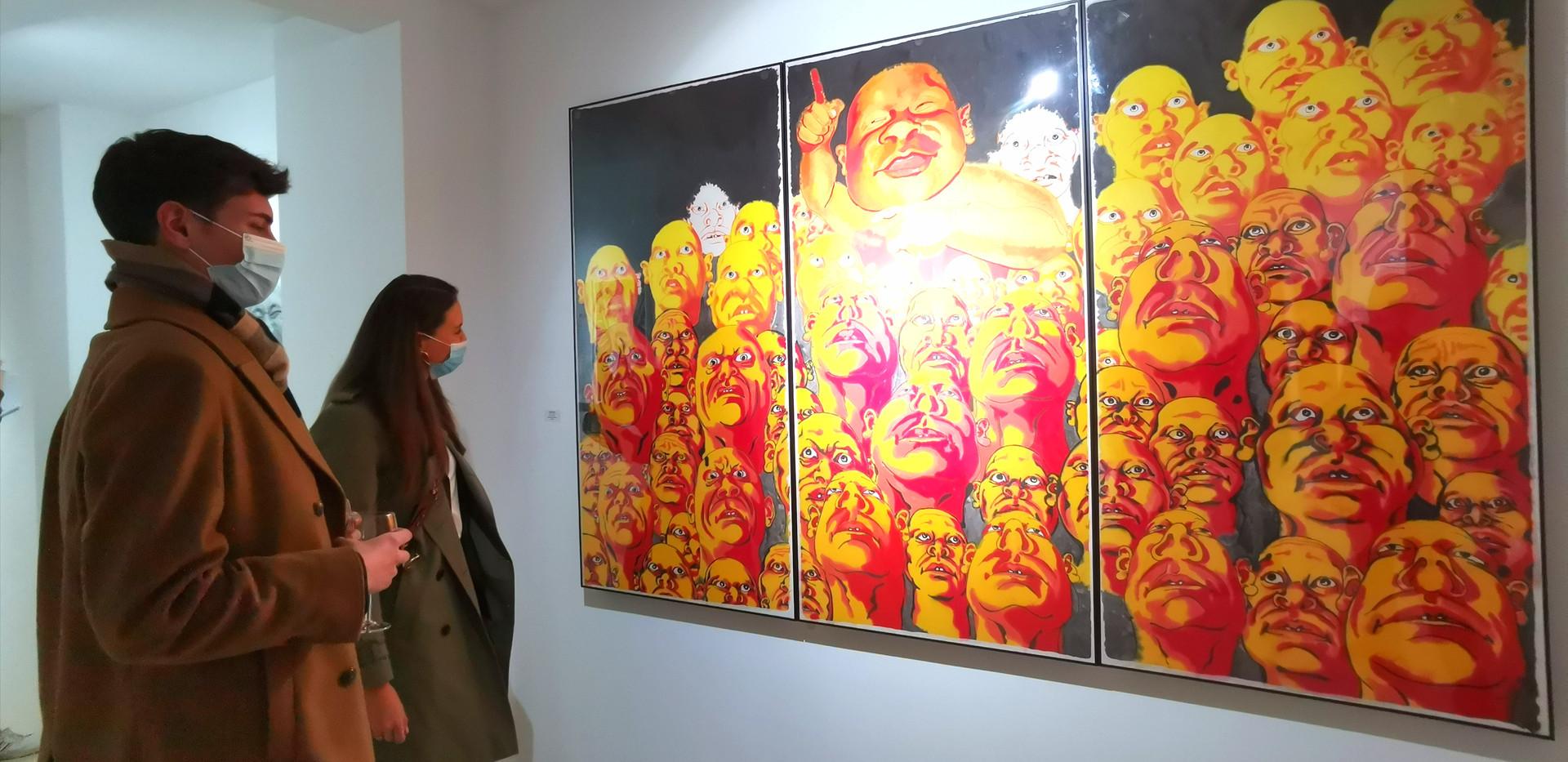 """Ausstellungseröffnung """"Fang Lijun & Ren Rong"""""""