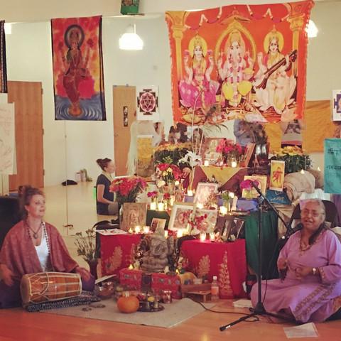 Chanting Sacred Songs & Mantras