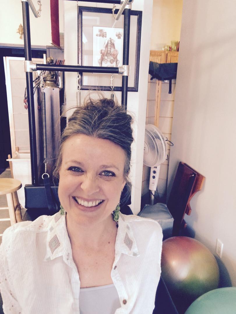 Cary in Pilates Studio