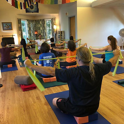 Pilates with Lee tonight at Midwest Dhar