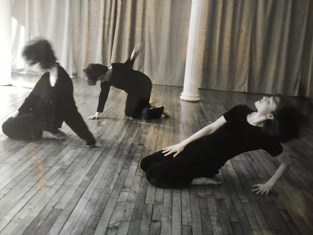 Rehearsal with Mark Jarecke Dance, in SoHo