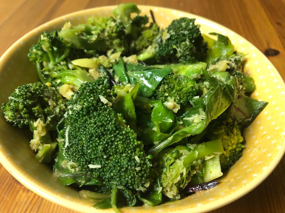 Broccoli & Local Greens