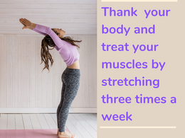 Nourish November: November 8- Thank you body and treat your muscles by stretching