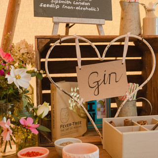 Our hire heart on the gin station!