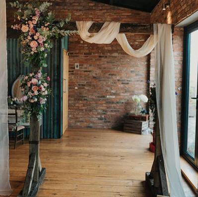 Wooden Arch Way