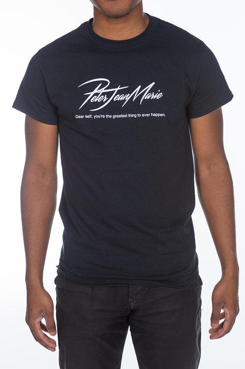 MENS Black PJM Signature Campaign T-Shirt