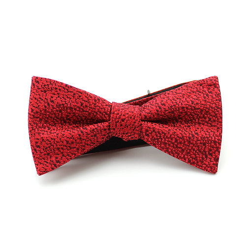 Scarlet Silk Bowtie