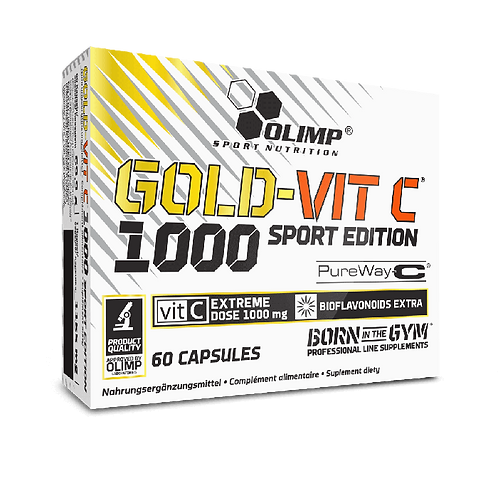 Nahrungsergänzungsmittel GOLD-VIT C 1000 SPORT EDITION - 60 KAPSELN