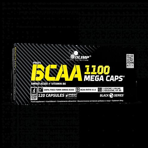 BCAA 1100 MEGA CAPS - 120 KAPSELN