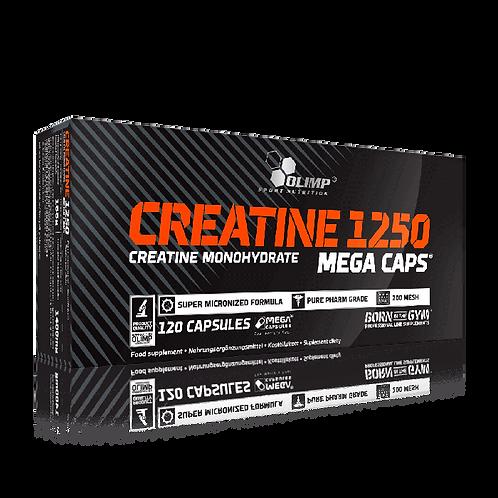 CREATINE 1250 MEGA CAPS - 120 KAPSELN