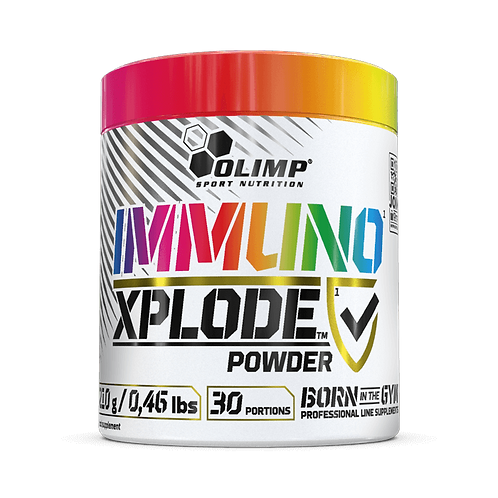 IMMUNO XPLODE POWDER - 210 G - CITRUS LEMONADE