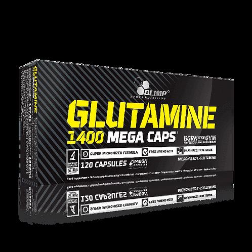 GLUTAMINE 1400 MEGA CAPS - 120 KAPSELN