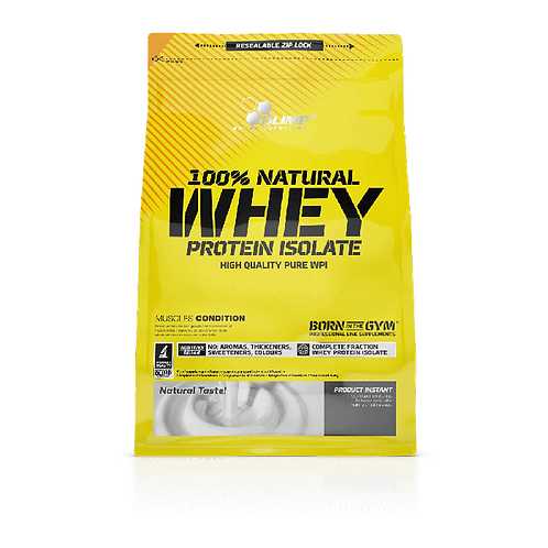100% Natural Whey Protein Isolate