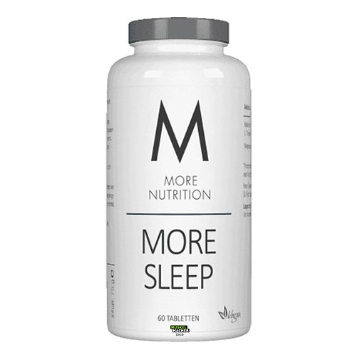 More Nutrition More Sleep